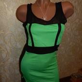 Бандажное эффектное мини-платье 46-48 МЛ -фото, замеры