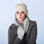 Теплый снуд- шарф на флисе от Tchibo(Германия), размер универсальный
