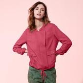 ☘ Куртка-ветровка ягодного цвета в стиле casual от Tchibo(Германия), размеры наши: 50(44 евро)