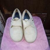 Фирменные кожаные туфли размер 38 (5)