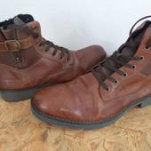 Ботинки Rieker натуральная кожа 45 размер-30 cm