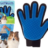 True Touch - массажная перчатка для чистки животных