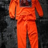 яскрава теплюща піжамка провелюрена махра 140-160