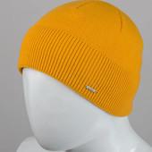 """Мужская шапка """"Nord"""" желтая"""