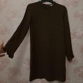 Красивое платье , хаки , приятная вискоза ! УП скидка 10%