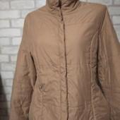Теплая куртка на межсезонье. Р. 44-46