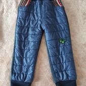 Теплые штаны на 3-5 лет