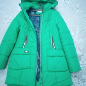 зимняя теплая куртка парка 48-52р.