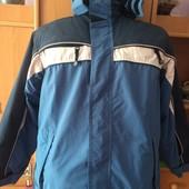 термо Куртка, холодная весна, внутри флис, размер 10 лет 140 см, American. состояние хорошее