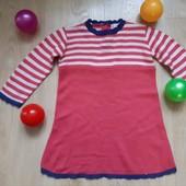 В'язане плаття на р. 86 на 1-2 роки