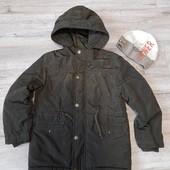 Демисезонная куртка J.N.S kids +шапка на 122-128р.