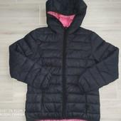 Курточка Деми на девочку 9-10лет замеры на фото