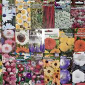 Семена цветов. Лот - 20 пакетов. Дешевле нет