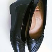 Туфли с ортопедической стелькой указан размер 41