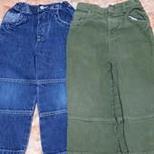 2 пары джинсов одним лотом! Размер 98,в идеале!