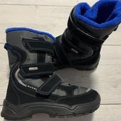 Отличные термо ботиночки Everest water Tex 31 размер стелька 19,5 см