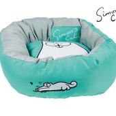 Кровать лежак для кошек с мотивами кота Саймона! Zoofari