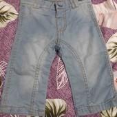 новые джинсы с биркой 9/12 месяцев