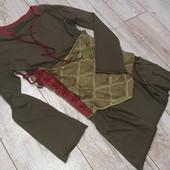 Платье хаки , xs