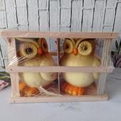 Декоративні сови з кераміки 2шт Melinera