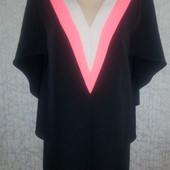 Платье с оригинальными рукавами