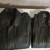 Мужская курточка, одна на выбор. Натуральная кожа.