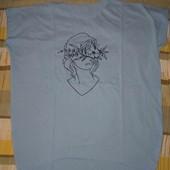 Женская футболка, отличное качество, р. Л, 3ХЛ