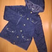 Tu демисезонная куртка для девочки на 3-4года, на рост 98-104