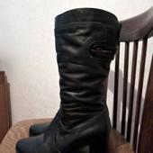 Зимние кожаные сапоги на овчине 40р Elegance Collection