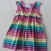 Платье Topomini на 1-1.5 года 100% хлопок.