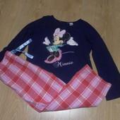 Пижама х\б Disney состояние очень хорошее