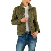 Sale!Котоновая куртка с камуфляжным принтом Voyelles (Италия), размер L (40)