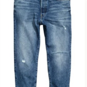 крутые джинсы на болтах,низ не обработан,36 р.