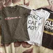 3 футболки в отличном состояние