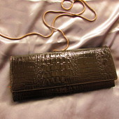 Женский кожаный кошелек(клатч)