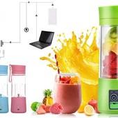 Портативный фитнес блендер Smart juice cup fruits