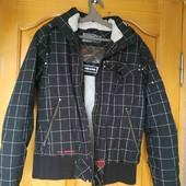 Теплая зимняя куртка р.L