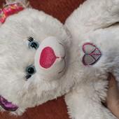 Build a bear,. Белая мишка с мигалками