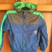 Куртка, ветрока, внутри сетка, р 6 лет 116 см, Petrol Industries.. состояние хорошее