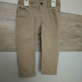 Бежевые штаны H&M 80p.(собирайте мои лоты)
