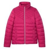 Германия!!! Стеганая демисезонная куртка, курточка для девочки! Ягодка такая! 140 рост!