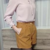 Блузка розово-сиреневая, размер ХС-С