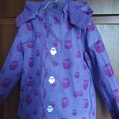 Куртка-парка-дождевик на флисе TCM Tchibo 98-104
