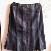 скидка на УП 10%!! шикарная юбка вельветовая стрейч 42 евро