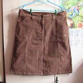 УП скидка 10%!! шикарная юбка вельветовая отличная 42 евро