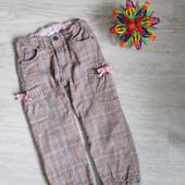 Штаны с подкладкой на девочку, 3-4 года