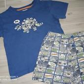 Пижама на мальчика 4-5лет замеры на фото