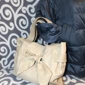 Италия! Шикарная, кожаная , вместительная сумка SanPatrignano для стильных модниц.