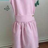 Ніжне розове плаття.