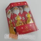 Молочный вкусный шоколад.Санта Клаусы 10 штук.Польша 125 грамм упаковка. Сроки до 31.07. 21.